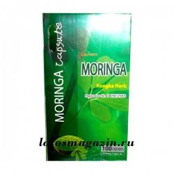 Капсулы Moringa Oleifera (Моринга Масличная) для лечения  диабета 100 капсул Тайланд