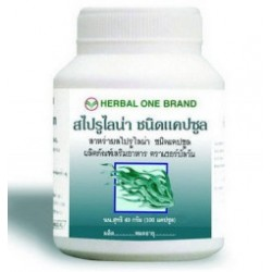 Спирулина капсулы 100шт Тайланд для иммунитете
