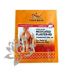 Пластырь Тигровый тайский бальзам красный греющий  Tiger Balm HOT